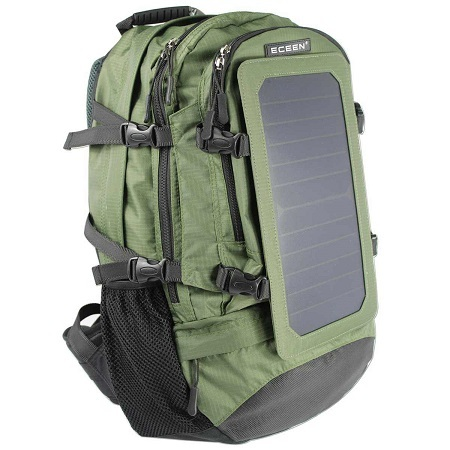 45f11c55df Eceen Solar Backpack Review